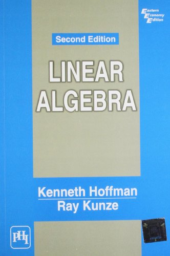 Linear Algebra (2nd Edition)