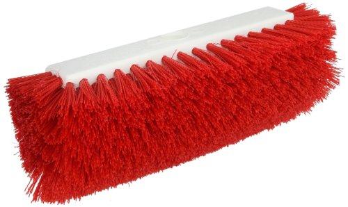 Carlisle 4042205 Sparta Dual Surface Plastic Block Floor Scrub, Polypropylene Bristles, 10