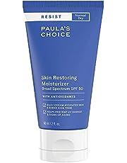 Paula's Choice Resist Anti-Aging Dagcrème SPF 50 - Crème Hydrateert de Huid & Biedt Zonbescherming - met Shea-boter & Niacinamide - Normale tot Zeer Droge Huid - 60 ml