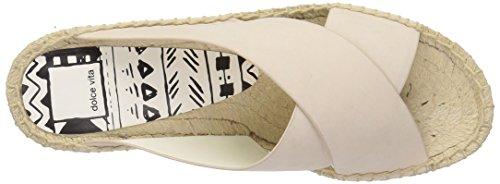 Dolce Vita Kvinnor Loke Plattform Sandal Off White Nubuck