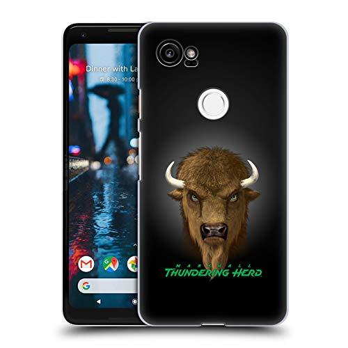 (Official Vincent HIE Marshall University Collegiate Varsity Hard Back Case Compatible for Google Pixel 2 XL)