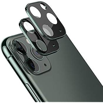 HYAIZLZ iPhone 11 Pro Max//11 Pro Camera Lens Protector Metal Edge Full Coverage 9H Hardness Tempered Glass Camera Lens Protector Film for iPhone 11 Pro Max//11 Pro 5.8,6.5inch,Black
