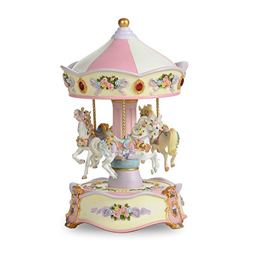 - THE SAN FRANCISCO MUSIC BOX COMPANY Classic Horse Musical Carousel