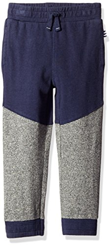 Splendid Little Boys' Toddler French Terry Active Pant, Navy, 3T