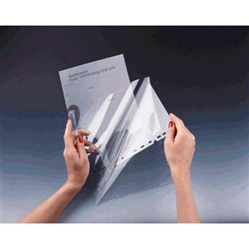 Durable 855219 Duraframe Pochette de Présentation pour Rétroprojection Format Perforations Universelles Boite de 100