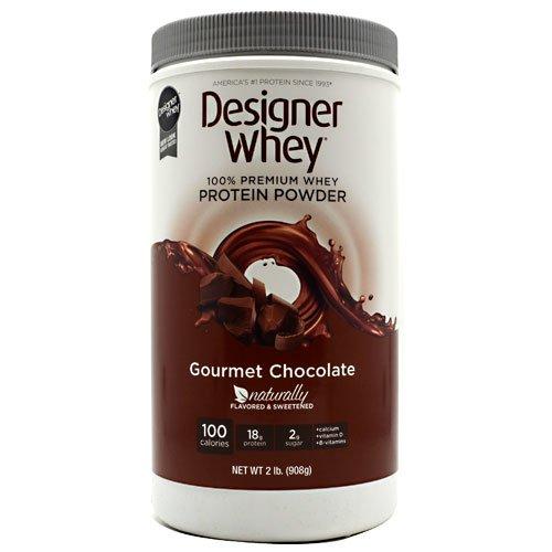 DESIGNER WHEY 100% Premium Whey Protein Powder, Gourmet Chocolat, 32 once Container