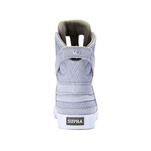 Supra SKYTOP II - zapatillas deportivas altas de cuero Unisex adulto Light Grey Olive