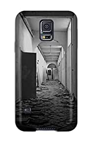 Case Cover Abandoned Monastery/ Fashionable Case For Galaxy S5