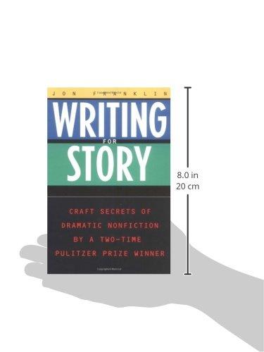 writing for story jon franklin pdf