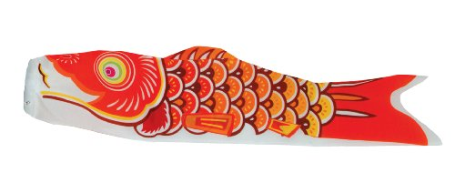 In the Breeze Koi Fish Windsock, 24-Inch,