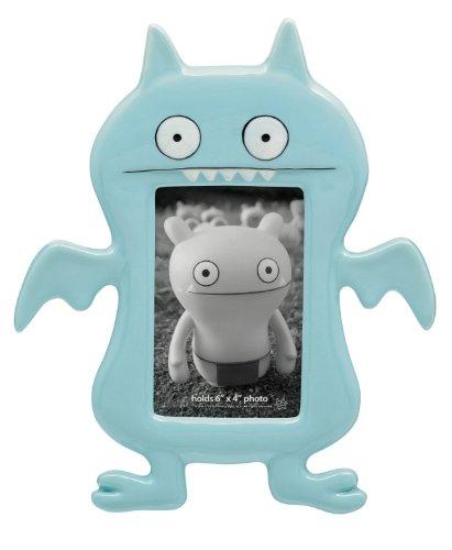 Uglydoll 6-Inch by 4-Inch Ice Bat Ceramic Frame, Light Blue