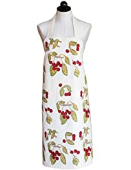 Couleur Nature Cherry Red Green Apron