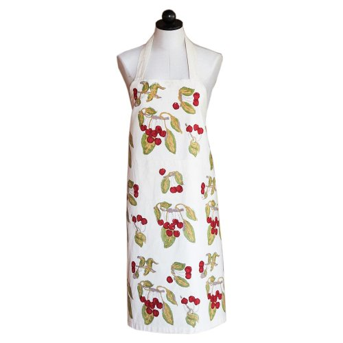 Couleur Nature Cherry Red/Green Apron