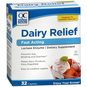 Amazon.com: QC Lácteos Socorro Fast Acting caplets, 32 ct ...