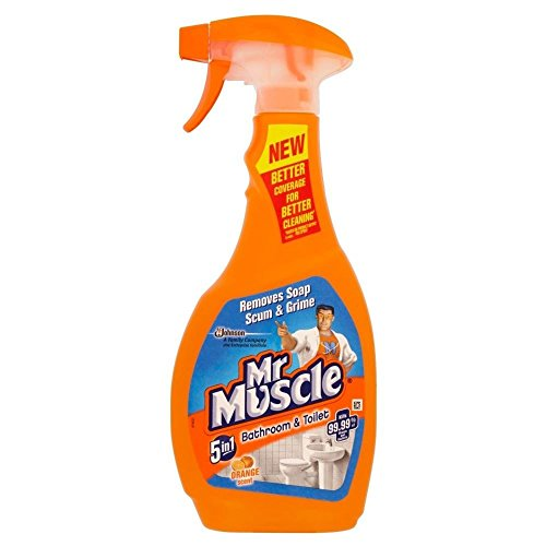 Mr Muscle 5in1 Bathroom & Toilet Citrus Cleaner (500ml) - Pack of 2 ()