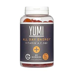 YUMI – Supplément Multivitamines Végans Pour Soutenir Votre Energie Toute La Journée Avec Vitamines A, C, D et E – 60…