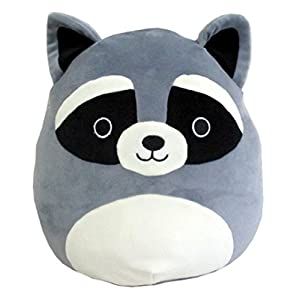 Squishmallow Kellytoy 8″ Raccoon Super Soft Squishy Plush Toy Pillow Pet