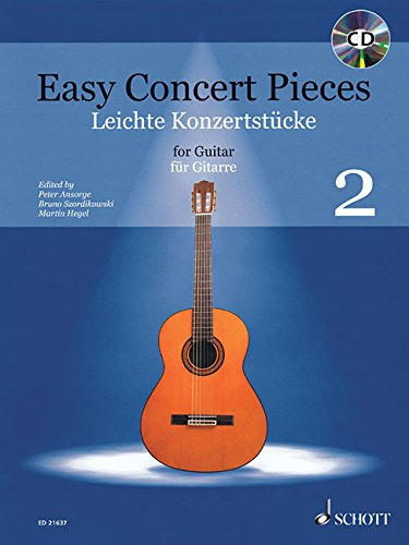 Read Online Easy Concert Pieces Guitar Edition With CD pdf epub