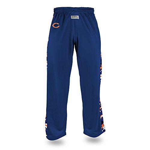 Zubaz Adult Men's NFL Camo Print Accent Team Logo Stadium Pants, - Crazy Pajamas Flannel