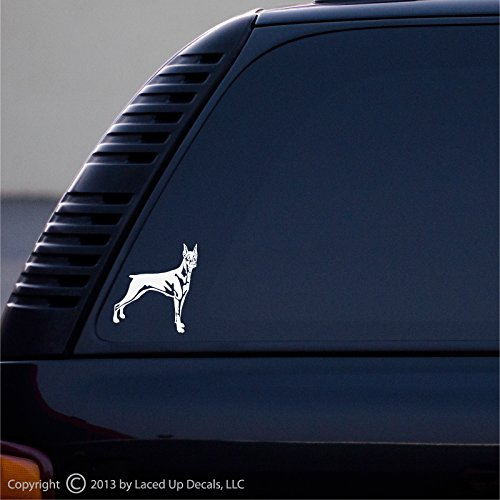 DOBERMAN PINSCHER vinyl decal small