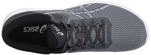 Asics Hombres Nitrofuze 2 Running Shoe Carbon / Glacier Grey / White