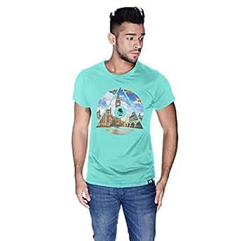 Creo London Telephone T-Shirt For Men - L, Green