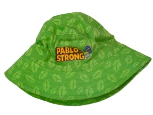 Backyardigans Nick Jr Toddler Boys Pablo Bucket Hat Green Floppy Sun Cap ()