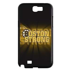 Boston Bruins Samsung Galaxy N2 7100 Cell Phone Case Black Bguc