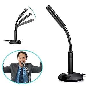 symboat micrófono de ordenador plug and play reducción de ruido de 360 grados portátil para el PC de escritorio para ordenador portátil: Amazon.es: ...