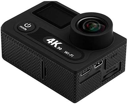 LULIJP HD 4K 撮影 防水 超薄型 スポーツ DV アウトドア スポーツカメラ 2.4g リモート コントロール WiFi 携帯電話 接続