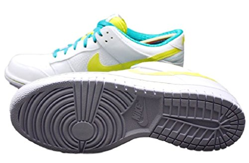 UK Zoom weiß Force EUR Premium Nike Schuhe Leder 45 10 Low Sneaker Dunk 318764 Gr qSapBY