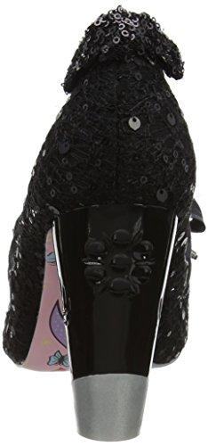 Irregular Choice Women's Bubbles Gum Closed-Toe Heels Black (Black) RuYji
