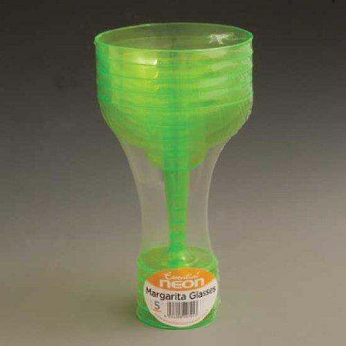 Essential Neon Green Margarita Glasses 30cl - Pack of 15 NMARG5-ESST-3