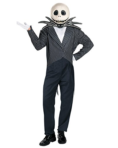 Jack Skellington Halloween Costume Nightmare Before Christmas Sizes: One Size
