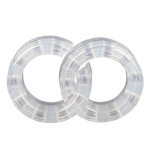 DEDC 2 Pack Car Buffers Shock Absorber Spring Bumper Cushion, Transparent Car Shock Buffer Power Cushion Type C from DEDC