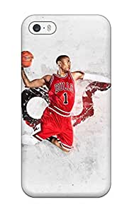Hot 4840893K365489507 basketball nba derrick rose NBA Sports & Colleges colorful iPhone 5/5s cases