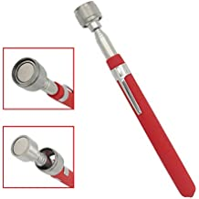 """VASTOOLS Telescopic Magnetic Pickup Tool,10LB Magnet Stick, 30"""" Extendable Magnet with Pocket Clip"""