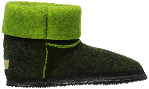 GiessweinKemberg - pantuflas sin forro Mujer Verde - Grün (tanne-limonengrün / 472)