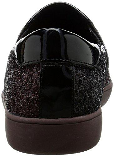 Nine West Lildevil Synthetic Fashion Sneaker Dark Red