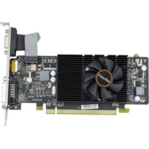 - VisionTek Radeon HD 6570 Graphic Card - 650 MHz Core - 2 GB DDR3 SDRAM - Full-Height - 128 bit Bus Width - Fan Cooler - DirectX 11.0-1 x HDMI - 1 x VGA - 1 x Total Number of DVI (1 x DVI-D) - Dual L