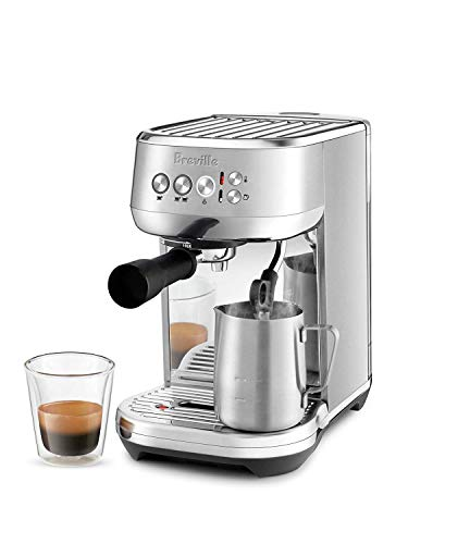 Breville Bambino Plus BES500 Compact Semi-Auto Espresso Machine – Stainless Steel