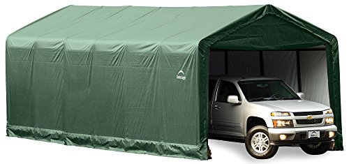 Storage Green Shelter - ShelterLogic ShelterTUBE Storage Shelter, Green, 12 x 20 x 11 ft.