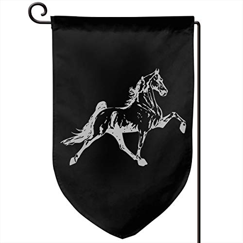 Gd89pL&& Tennessee Walking Horse Weather Resistant Garden Flag, Durable Yard Flag, Two Side (12