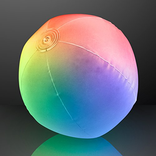 - Light Up Beach Ball with Color Changing LED Lights