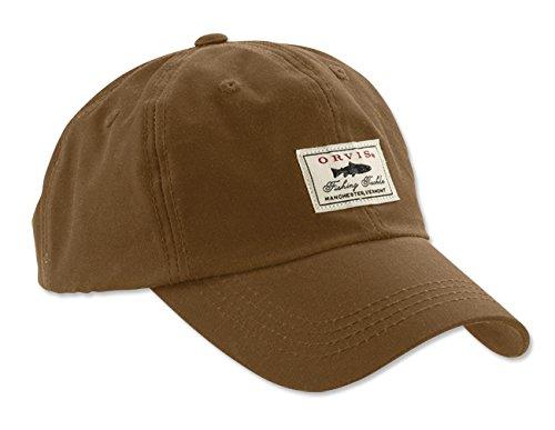 Orvis Vintage Waxed Cotton Ball Cap (Sandstone)