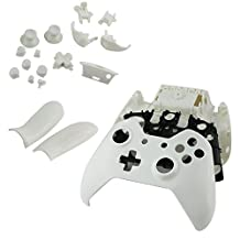 SQdeal Wireless Controller Replacement Mod Kit Shell Case for Xbox One (Pure White)