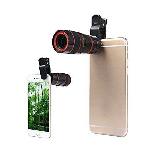 Universal 8X Telescope Microscope Lens - 9
