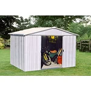 Yardmaster Apex Metal caseta de jardín–10x 8pies.