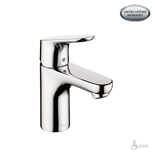 hansgrohe Focus  Modern 1-Handle  7-inch Tall Bathroom Sink Faucet in Chrome, 04371000 (Metris Shower Hansgrohe Set)