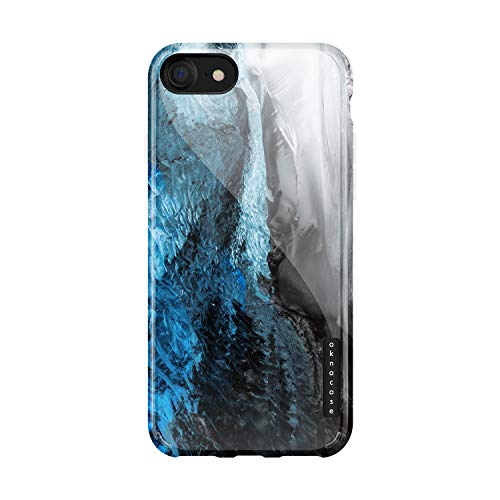 iPhone 8 & iPhone 7 Case Marble, Akna Sili-Tastic Series High Impact Silicon Cover with Full HD+ Graphics for iPhone 8 & iPhone 7 (651-U.S) ()
